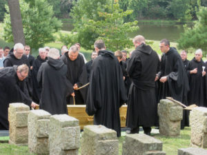 A monk's burial