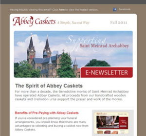 Abbey Caskets E-Newsletter